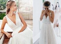 A-vonalú esküvői ruha, ami mindent visz!