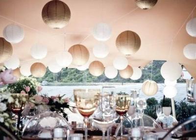 Lampion esküvői dekoráció - vásárlás, bérlés!