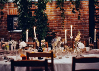 Esküvői dekoráció meghitt, családias környezetben