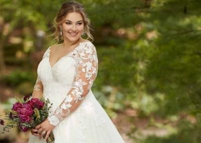 Elkapott a pánik, hogy a telt alakodra nem fogsz találni szép menyasszonyi ruhát?