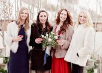 Csinosan, de melegen: 3 szett téli esküvőzéshez